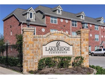 College Station Condo/Townhouse For Sale: 1198 Jones Butler Road #2807