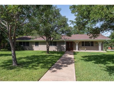 Brazos County Single Family Home For Sale: 2415 Morris Lane