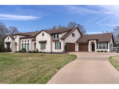 Bryan Single Family Home For Sale: 8722 Green Branch Loop