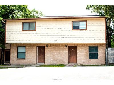 Brazos County Multi Family Home For Sale: 1002 Verde Drive