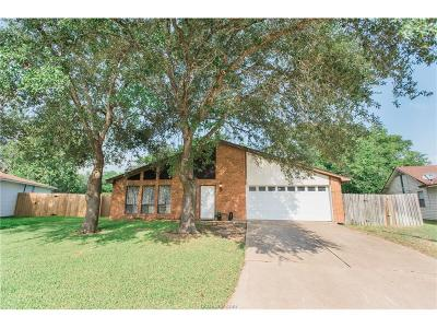 Bryan Single Family Home For Sale: 3911 Sioux Circle