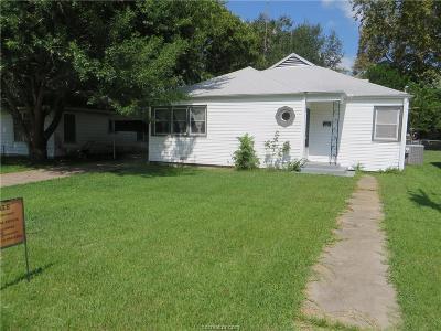 Hearne Single Family Home For Sale: 608 Barton Street