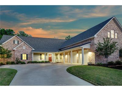 Bryan , College Stat Single Family Home For Sale: 3048 Hickory Ridge Circle