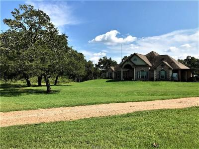 Burleson County Single Family Home For Sale: 4633 County Road 310 (+/-17.8 Acres)