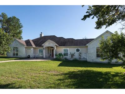 Grimes County Single Family Home For Sale: 13181 Oak Drive