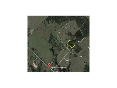 Bryan Residential Lots & Land For Sale: 0000 Sand Creek Rd