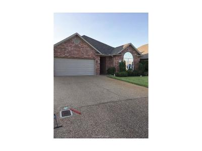 College Station Single Family Home For Sale: 607 Clovis Court