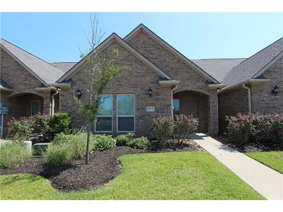College Station Condo/Townhouse For Sale: 3517 Haverford Road