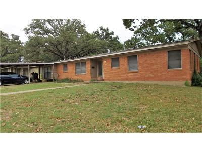 Bryan Single Family Home For Sale: 4207 Oaklawn Street
