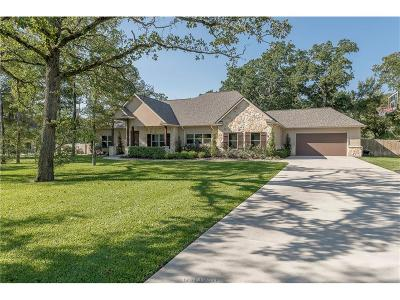 Bryan Single Family Home For Sale: 7644 Hidden Trail