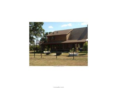 Burleson County Single Family Home For Sale: 10230 County Road 316