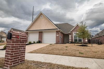 Bryan Single Family Home For Sale: 3234 Peterson Way