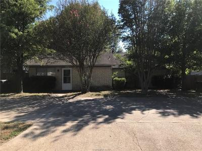 Bryan , College Station Multi Family Home For Sale: 3324-3326 Lodgepole Circle #2