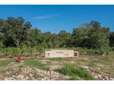 Bryan Residential Lots & Land For Sale: 5036 Paulo Court