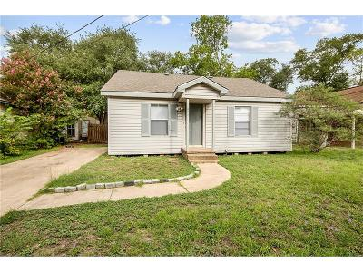 Bryan , College Station Single Family Home For Sale: 806 Mitchell Street