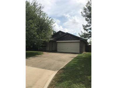 College Station Rental For Rent: 1104 Buttercup Circle
