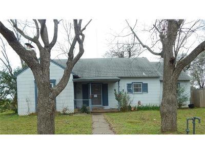 Hearne Single Family Home For Sale: 201 Calvert Street