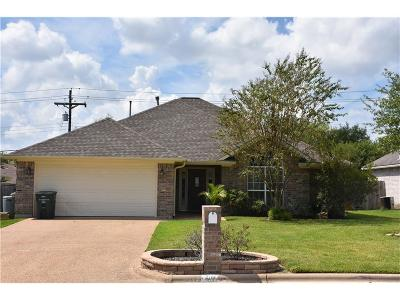 Bryan Single Family Home For Sale: 4902 Winchester Drive