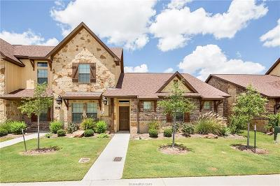 College Station Condo/Townhouse For Sale: 122 Tang Cake Drive