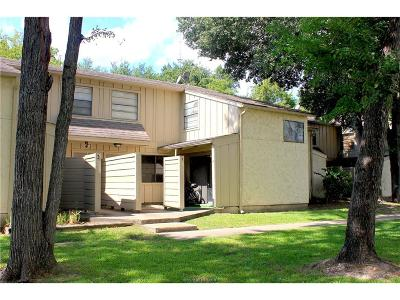 Bryan Condo/Townhouse For Sale: 4403 Carter Creek Pky #3