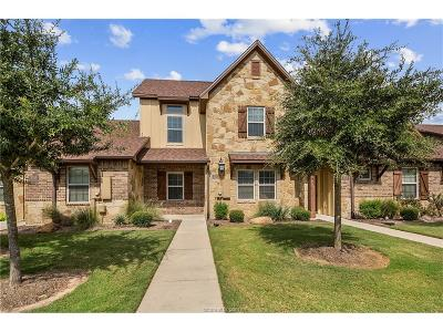 Bryan  , College Station Condo/Townhouse For Sale: 3317 Cullen Trail