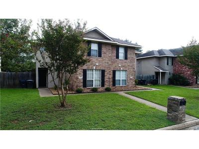 Brazos County Multi Family Home For Sale: 1209 Oney Hervey Drive