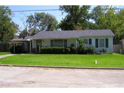 Navasota Single Family Home For Sale: 1212 Kettler Street