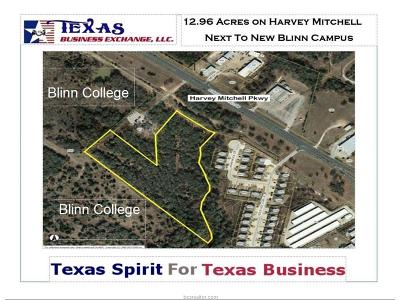 bryan Residential Lots & Land For Sale: 0000 North Harvey Mitchell Farm To Market Road