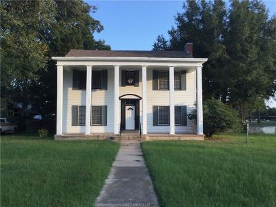 Hearne Single Family Home For Sale: 307 Barton Street