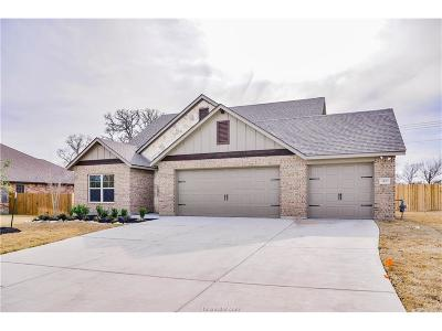 Bryan Single Family Home For Sale: 3470 Lockett Hall Circle