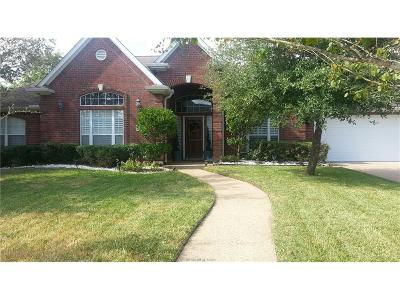 College Station Single Family Home For Sale: 8305 Wildewood