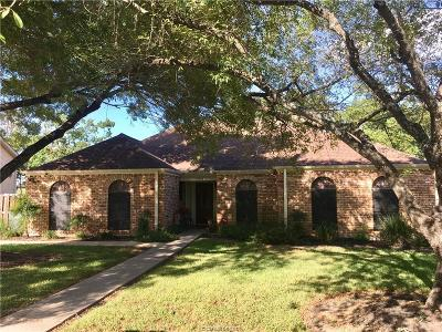 Bryan TX Single Family Home For Sale: $184,900