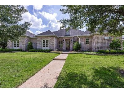 Bryan Single Family Home For Sale: 5124 Miramont Circle