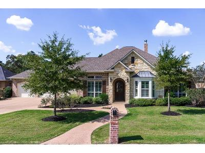 College Station Single Family Home For Sale: 5304 Jupiter Hills Court