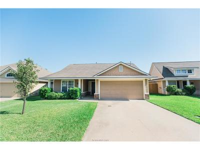 College Station Single Family Home For Sale: 3917 Springmist Drive