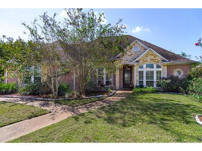 Brazos County Single Family Home For Sale: 5204 Cascades