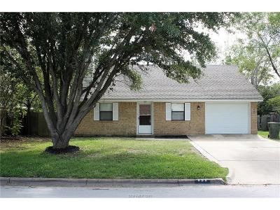 Bryan Single Family Home For Sale: 908 Water Locust Drive