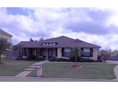 Bryan , College Station  Single Family Home For Sale: 2826 Horseback Drive