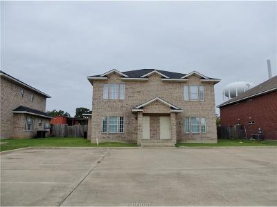 Bryan , College Station Multi Family Home For Sale: 1505 Hollowhill Drive #A & B