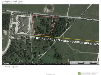 College Station Residential Lots & Land For Sale: 3906 Rock Prairie Road