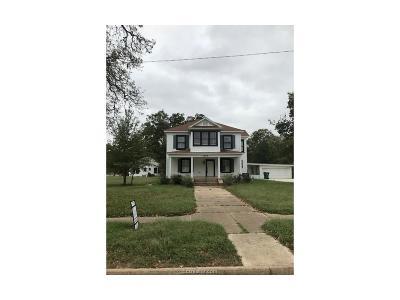 Hearne Single Family Home For Sale: 1206 Post Oak Street