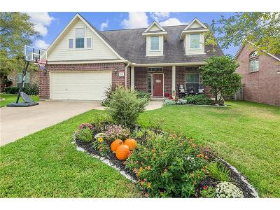 College Station Single Family Home For Sale: 4408 Crayke Place