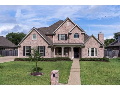 College Station Single Family Home For Sale: 5304 Congressional Drive