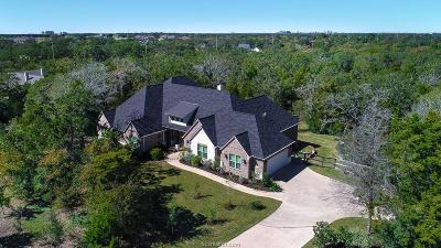 College Station Single Family Home For Sale: 5217 Ruddy Duck Drive