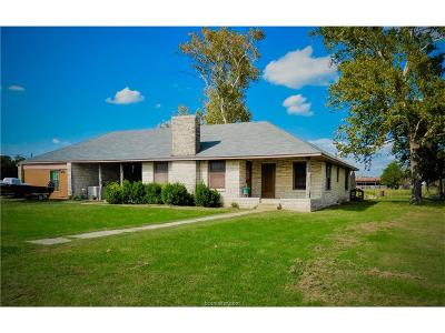 Milam County Single Family Home For Sale: 5784 Fm 485