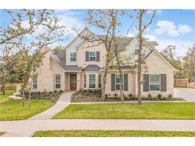 College Station Single Family Home For Sale: 5214 Hawks Ridge