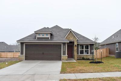 Bryan TX Single Family Home For Sale: $201,000