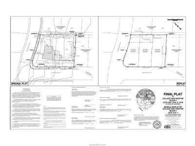 bryan Residential Lots & Land For Sale: 503 Woodson Drive