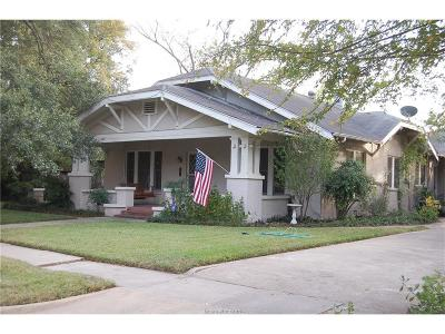 Bryan Single Family Home For Sale: 509 East 30th Street
