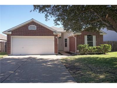 College Station Single Family Home For Sale: 3709 Westfield Drive